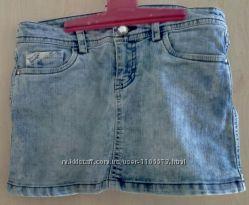 джинсовая юбка LCW рост 140-145