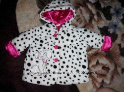 Кофта-пальтишко Disney для девочки 68 р , пальто, куртка