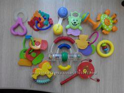 Погремушки, прорізувач для зубчиків, іграшки, игрушки