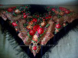 Платок украинский 110 - 110 см