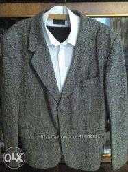 Пиджак 54-56, жилетка, рубашки на высокого 40186, галстук hand made.