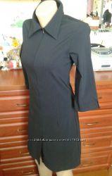Club donna черное приталенное платье euro 40 44-46р