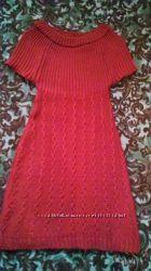 Платье  тупика  вязаная