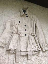 Стильное весеннее полупальтишко, курточка - фрак NEXT , размер uk 10, М