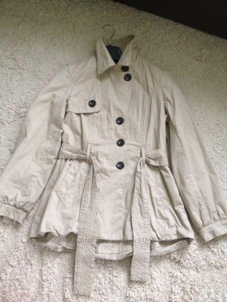 Стильное весна-осень полупальтишко, курточка - фрак NEXT , размер uk 10, М