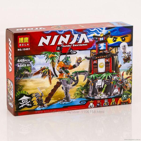 Конструктор Bela Ninja 10461 нінзяго 448 дет