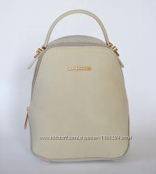 Светло-бежевый маленький рюкзак от David Jones