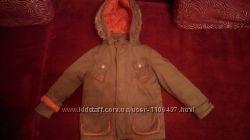 Тёплая куртка парка на мальчика M&S, 4-5 лет , 110см