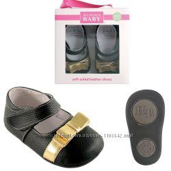 Кожаные туфельки пинетки ТМ Hudson Baby