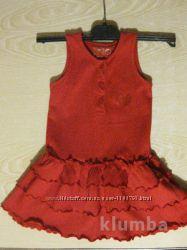 платье на девочку-от 12 до 18месяцев на рост до 86см.