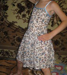 платье-сарафан на девочку от 3-ёх до 5-ти лет см. замеры