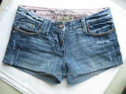 джинсовые шорты River Island - размер S, M см. замеры