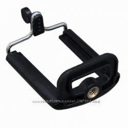 Крепление для установки мобильного телефона на штатив