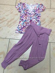 Капри летние, бриджи, шорты женские натуральная ткань