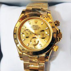 Мужские наручные часы Rolex Daytona Gold механика