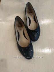 Туфли-лодочки, кожанные, размер 38