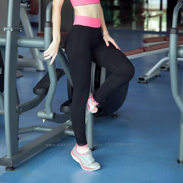 Лосины с шортами для фитнеса