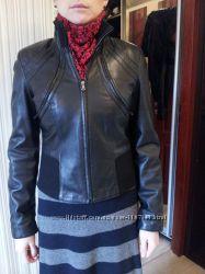 куртка жилетка кожанная