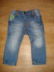 Модные джинсы Zara baby, размер 9-12 месяцев, рост 78 см