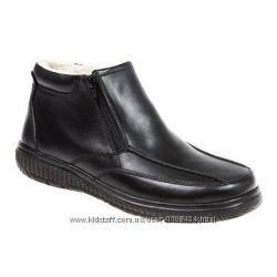 Кожаные зимние ботинки PAVERS за пол цены. Aнглия , Оригинал