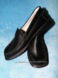 Мягкие кожаные туфли мальчикам в школу