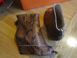 Сносшибательные ботинки с открытым носком Mary&Clarks. Оригинал, Англия