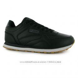 Кожаные черные кроссовки  от бренда  Kappa, Оригинал, Англия