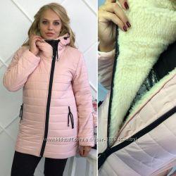 Женская куртка зима р. 46-54