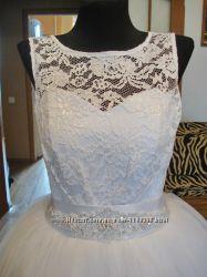 Шикарное свадебное платье по доступной цене