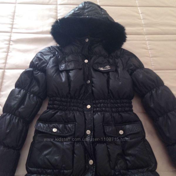 Пуховое пальто Blumarine