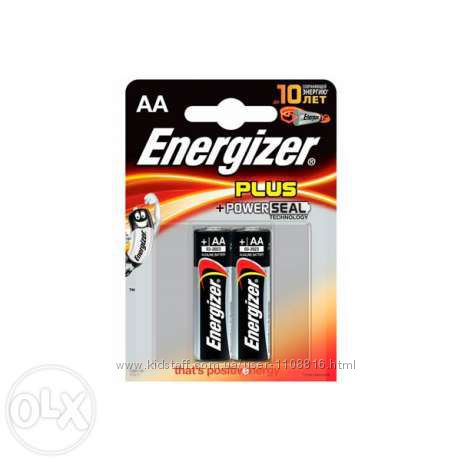 Батарейка Energizer AA, LR6, палец, оптом