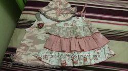 Платье, сарафан Wojcik, комплект, панамка