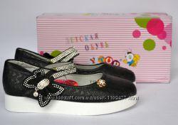 Стильные туфли для девочек тм Y. TOP