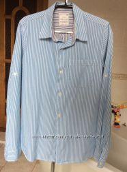 Рубашка ZARA в отл сост до 162 супер-качество