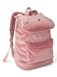 Красивенький и миленький Велюровый рюкзачок от компании Gap