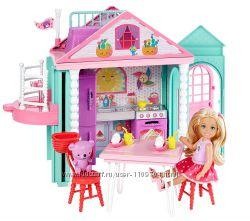 Куколка Челси- сестричка Барби и двухэтажный Домик с работающим лифтом