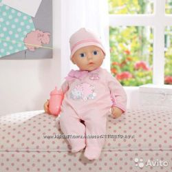 Пупс Голубоглазая малышка My First Baby Annabell bobas Zapf Creation