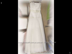фирменное свадебное платье не венчаное