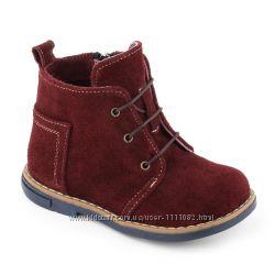 Детские демисезонные кожаные ботинки. ТМ МАТІТА 18-30 р.