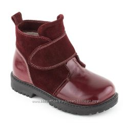 Детские зимние кожаные ботинки. ТМ МАТІТА 20-30 р.