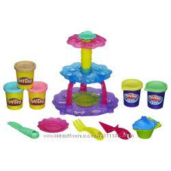 Плей-Дох набор пластилина Башня кексов Play-Doh