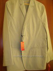 Летний хлопковый пиджак Alfani размер L US 52-54