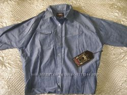 Джинсовая рубашка Heartloom р. S US 46-48 ткань шамбрей