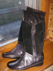 Сапожки кожаные демисезонные Naturalizer размер 5, 5 US 35. 5