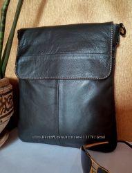 Кожаная мужская сумка 017