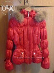 зимняя куртка для девочки 11-13 лет