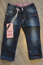 Италия, джинсы на девочку 12 мес