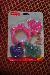 Fisher-Price грызунок для девочки  новый