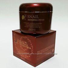 Крем с экстрактом улитки JIGOTT SNAIL Reparing cream, 100 мл.