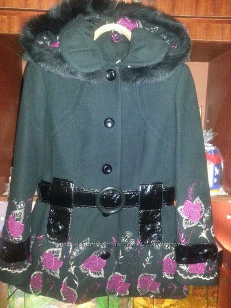 Красвое кашемировое пальто, демисезон, тёплая зима